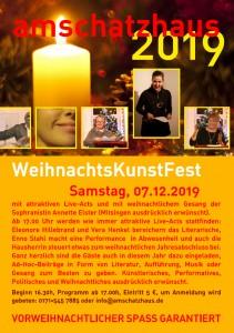 amschatzhaus WeihnachtsKunstFest 2019